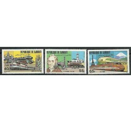 Znaczek Dżibuti 1981 Mi 300-302 Czyste **