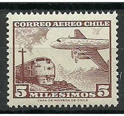 Znaczek Chile 1956 Mi 511Y Czyste **