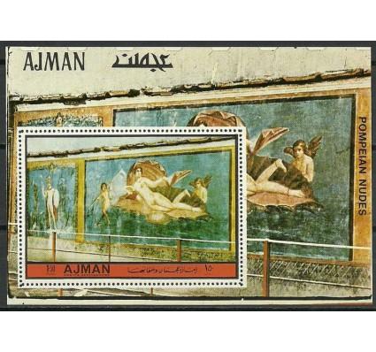 Znaczek Ajman / Adżman 1972 Mi bl 512 Czyste **