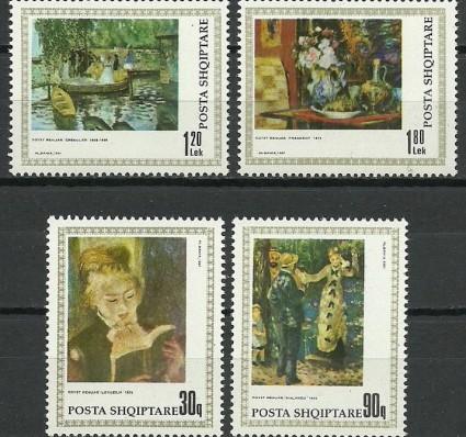 Znaczek Albania 1991 Mi 2466-2469 Czyste **