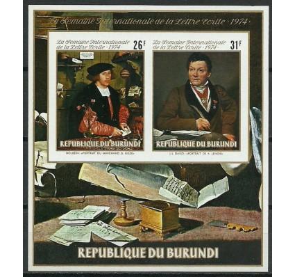 Znaczek Burundi 1974 Mi bl 81B Czyste **