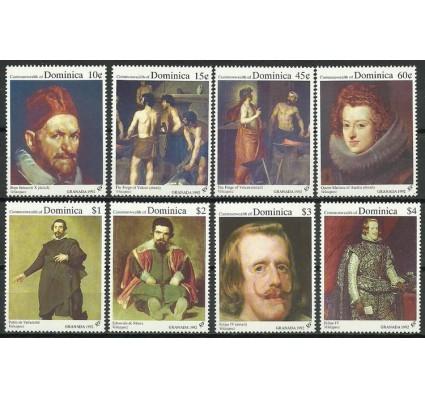 Znaczek Dominika 1992 Mi 1516-1523 Czyste **