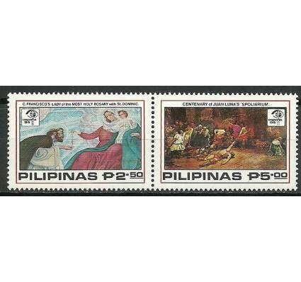 Znaczek Filipiny 1984 Mi 1579-1580 Czyste **