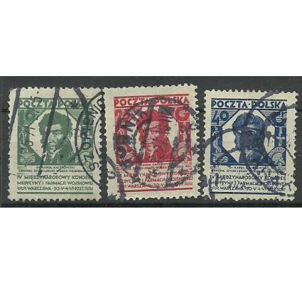 Znaczek Polska 1927 Mi 249-251 Fi 230-232 Stemplowane