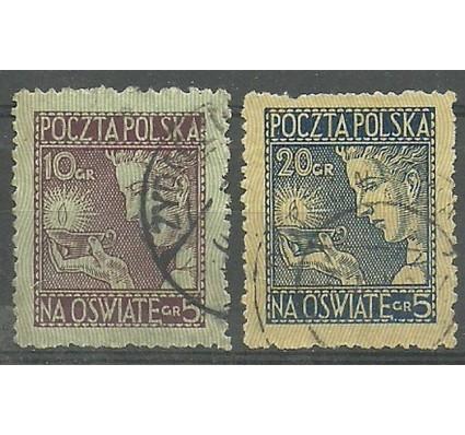 Znaczek Polska 1927 Mi 247-248 Fi 228-229 Stemplowane