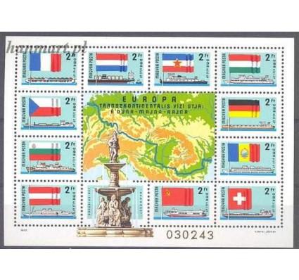 Znaczek Węgry 1977 Mi bl 128 Czyste **