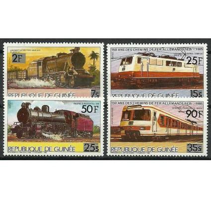 Znaczek Gwinea 1986 Mi 1091-1094 Czyste **