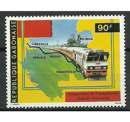 Znaczek Gabon 1986 Mi 977 Czyste **