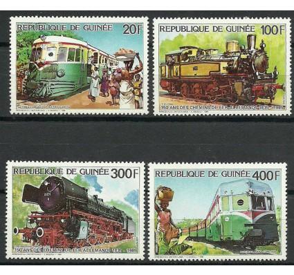 Znaczek Gwinea 1986 Mi 1118-1121 Czyste **