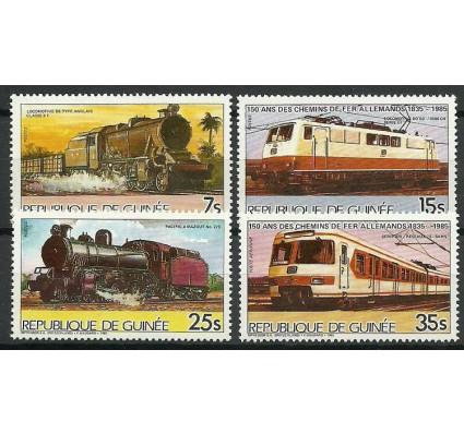 Znaczek Gwinea 1985 Mi 1076-1079 Czyste **