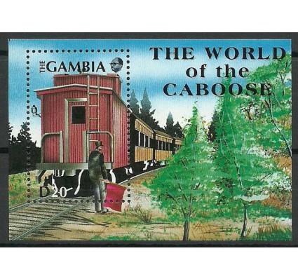 Znaczek Gambia 1991 Mi bl 126 Czyste **