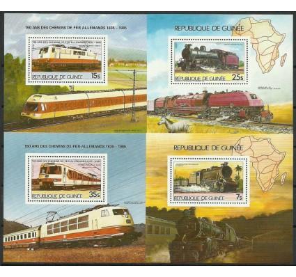 Znaczek Gwinea 1985 Mi bl 187-190 Czyste **