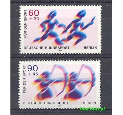 Znaczek Berlin Niemcy 1979 Mi 596-597 Czyste **