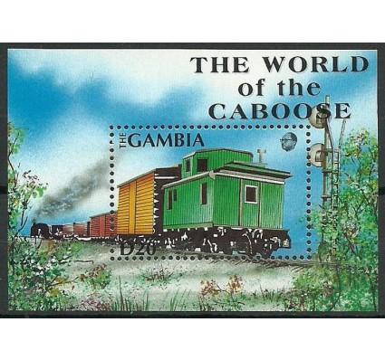 Znaczek Gambia 1991 Mi bl 127 Czyste **