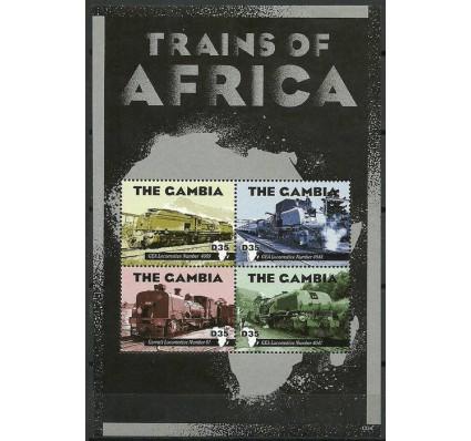 Znaczek Gambia 2013 Mi ark 6833-6836 Czyste **