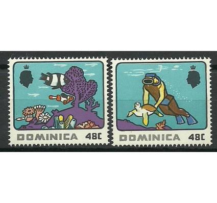 Znaczek Dominika 1969 Mi 251-252 Czyste **