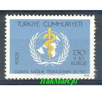 Znaczek Turcja 1968 Mi 2094 Czyste **