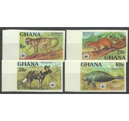 Znaczek Ghana 1977 Mi 702-705B Czyste **