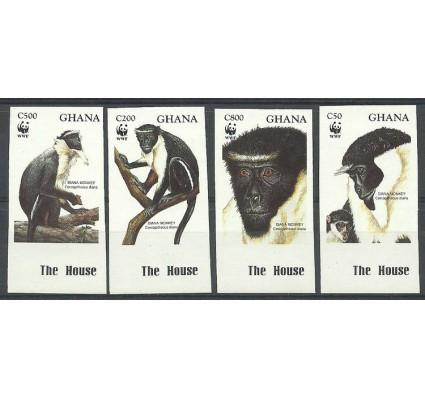 Znaczek Ghana 1994 Mi 1973-1976B Czyste **