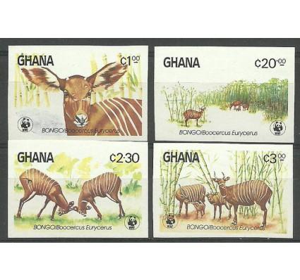 Znaczek Ghana 1984 Mi 1060-1063B Czyste **