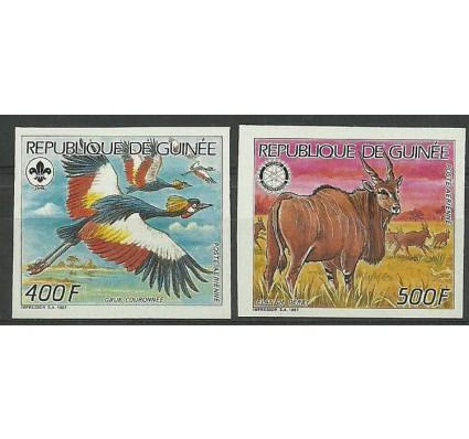Znaczek Gwinea 1987 Mi 1198-1199B Czyste **