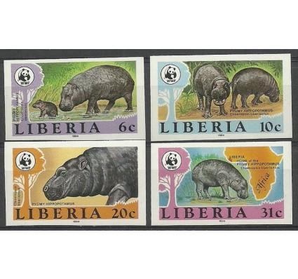Znaczek Liberia 1984 Mi 1315-1318B Czyste **