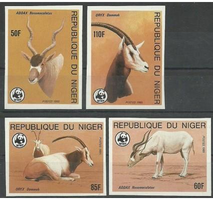 Znaczek Niger 1985 Mi 941-944B Czyste **