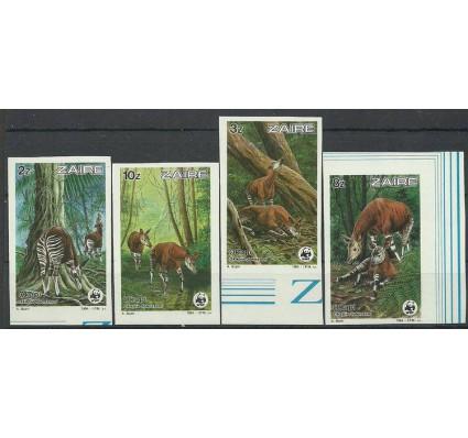 Znaczek Kongo Kinszasa / Zair 1984 Mi 875-878B Czyste **