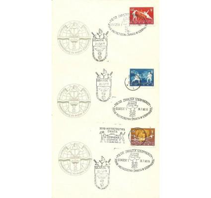 Znaczek Polska 1963 Mi 1405-1407 Fi 1257-1259 FDC