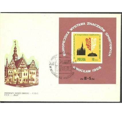 Znaczek Polska 1963 Mi bl 30 Fi bl 39 FDC