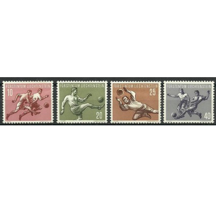 Znaczek Liechtenstein 1954 Mi 322-325 Czyste **