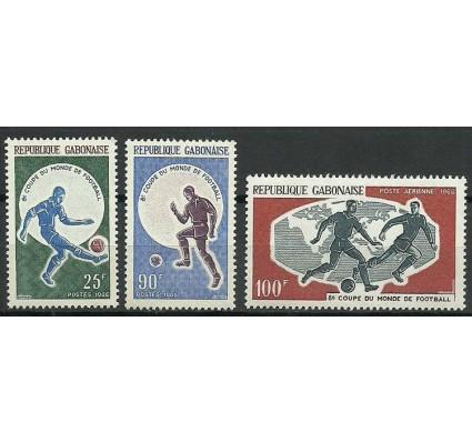 Znaczek Gabon 1966 Mi 247-249 Czyste **
