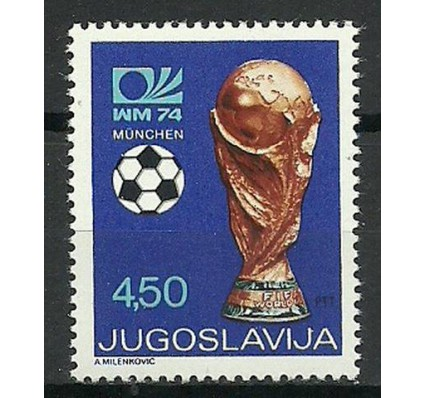 Znaczek Jugosławia 1974 Mi 1567II Czyste **