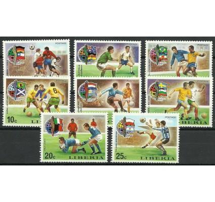 Znaczek Liberia 1974 Mi 921-928 Czyste **