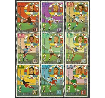 Znaczek Gwinea Równikowa 1973 Mi 307-315 Czyste **