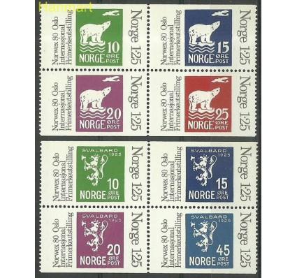 Znaczek Norwegia 1978 Mi 775-782 Czyste **