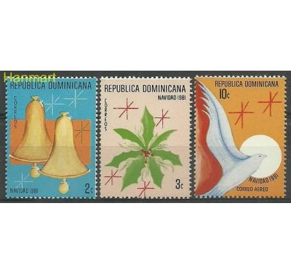 Znaczek Dominikana 1981 Mi 1327-1329 Czyste **