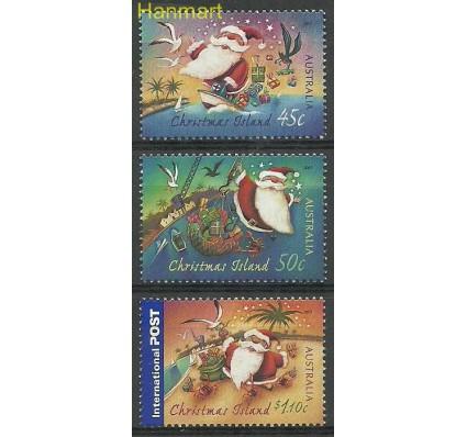 Znaczek Wyspa Bożego Narodzenia 2007 Mi 612-614 Czyste **