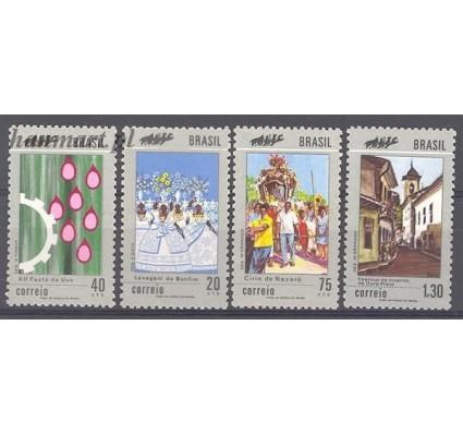 Brazylia 1972 Mi 1304-1307 Czyste **