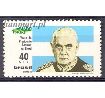 Znaczek Brazylia 1972 Mi 1308 Czyste **