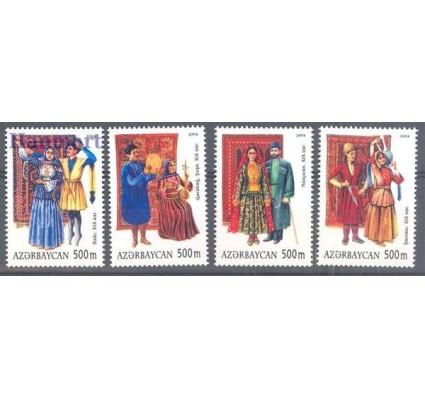 Znaczek Azerbejdżan 2004 Mi 586-589 Czyste **