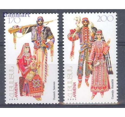Znaczek Armenia 2006 Mi 541-542 Czyste **