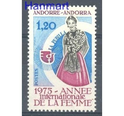 Znaczek Andora Francuska 1975 Mi 271 Czyste **