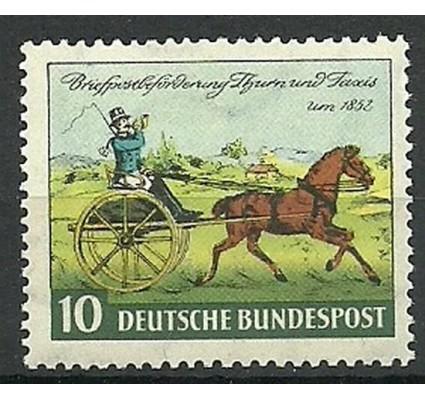 Znaczek Niemcy 1952 Mi 160 Z podlepką *