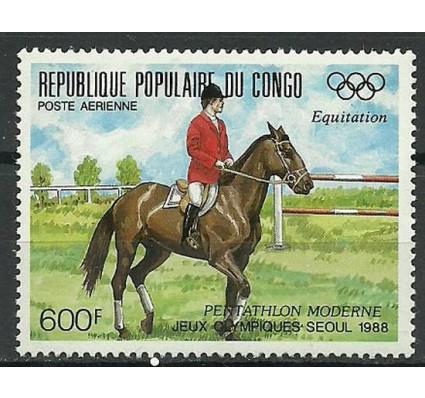 Znaczek Kongo 1988 Mi 1128 Czyste **