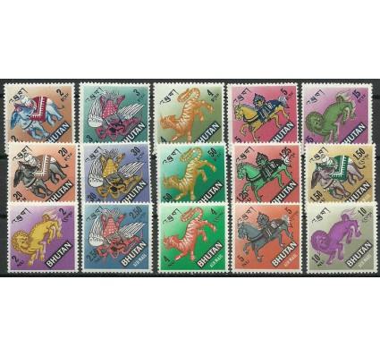 Znaczek Bhutan 1968 Mi 194-208 Czyste **