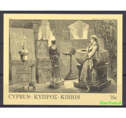 Znaczek Cypr  1984 Mi bl 12 Czyste **