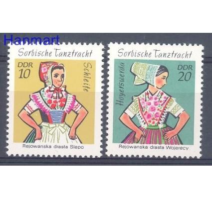 Znaczek NRD / DDR 1971 Mi 1723-1724 Czyste **