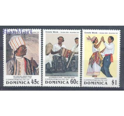 Znaczek Dominika 1991 Mi 1472-1474 Czyste **