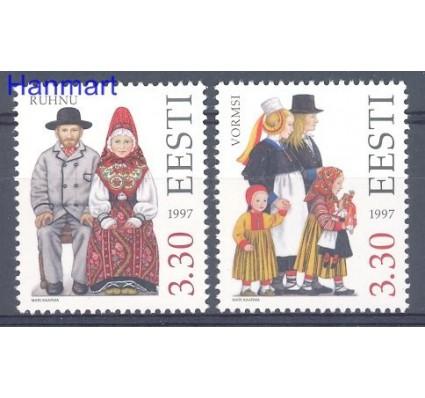 Znaczek Estonia 1997 Mi 306-307 Czyste **